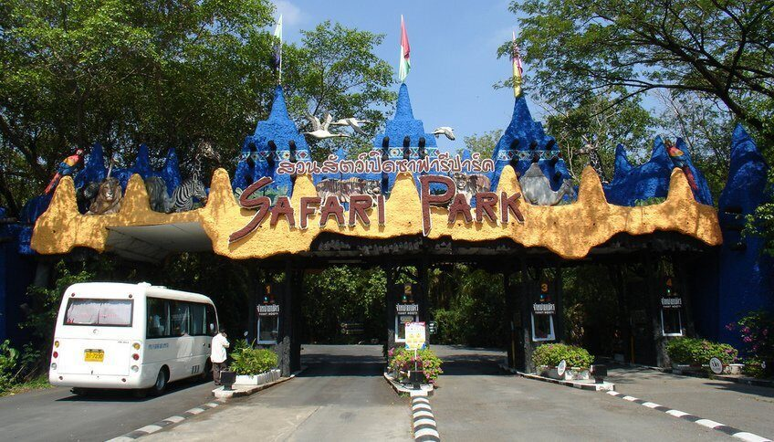 Сафари парк Бангкок (Safari World)